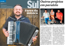 NOVOS TALENTOS BRASILEIROS no caderno GLOBO ZONA SUL de 20 de outubro de 2016