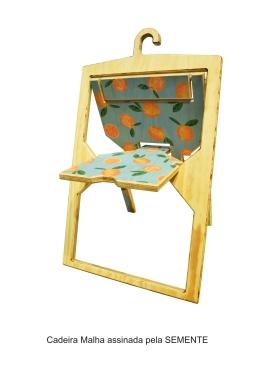Cadeira Malha assinada pela SEMENTE