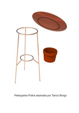 Petisqueira Potira assinada por Tarcio Borgo