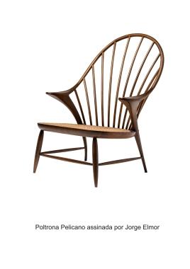Poltrona Pelicano assinada por Jorge Elmor