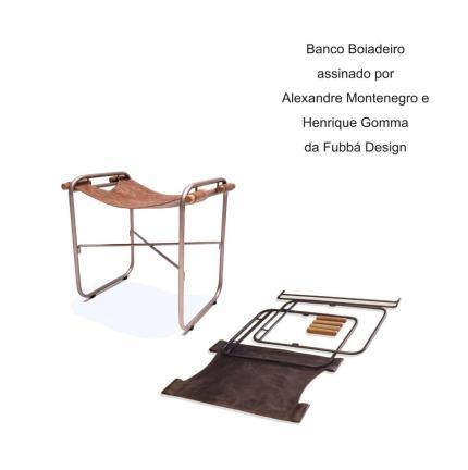 Banco Boiadeiro assinado por Alexandre Montenegro e Henrique Gomma da Fubbá Design