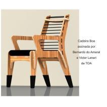 Cadeira Boa assinada por Bernardo do Amaral e Victor Lanari da TOA