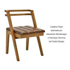 Cadeira Flash assinada por Alexandre Montenegro e Henrique Gomma da Fubbá Design