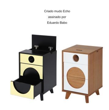 Criado mudo Echo assinado por Eduardo Babo