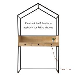 Escrivaninha Sobradinho assinada por Felipe Madeira