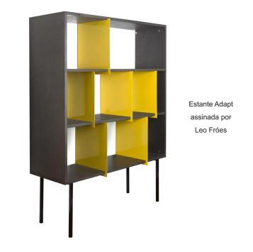 Estante Adapt assinada por Leo Fróes