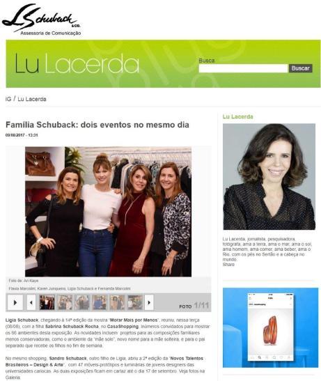Exposição NOVOS TALENTOS BRASILEIROS no blog da Lu Lacerda 9 de agosto de 2017