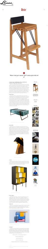 Exposição NOVOS TALENTOS BRASILEIROS no portal Atelier Guide em 8 de agosto de 2017