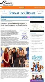 Exposição NOVOS TALENTOS BRASILEIROS no site do Jornal do Brasil em 9 de agosto de 2017