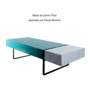 Mesa de centro Pool assinada por Paulo Moreira