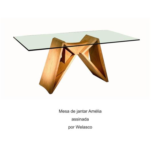 Mesa de jantar Amélia assinada por Welasco