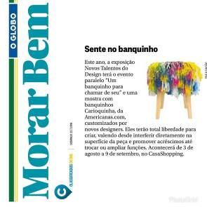NOVOS TALENTOS BRASILEIROS no caderno MORAR BEM de 22 de julho de 2018