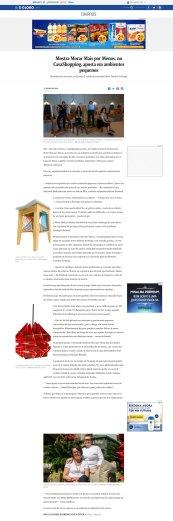 NOVOS TALENTOS BRASILEIROS no site do jornal O GLOBO em 5 de agosto de 2018